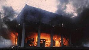 Stingerea incendiilor la ateliere auto şi garaje